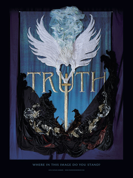 Truth Banner by Natalie Lombard